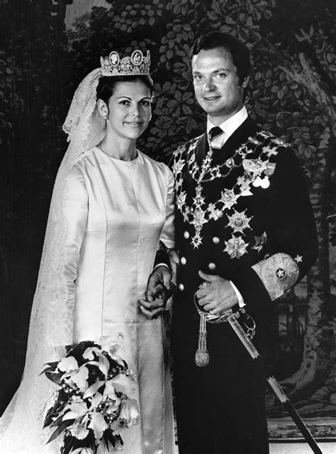 King Carl XVI Gustaf and Silvia Sommerlath | Royal brides ...