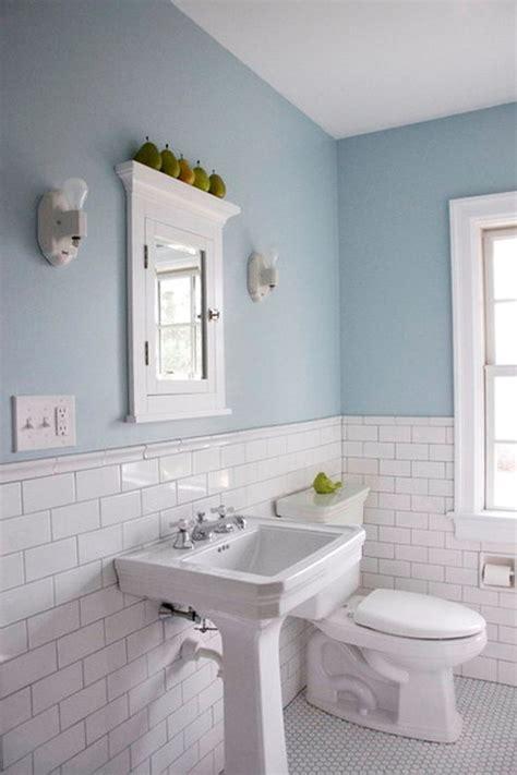 popular materials  white tile bathroom midcityeast