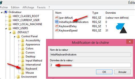 ordinateur de bureau windows 7 activer le pavé numérique au démarrage de windows