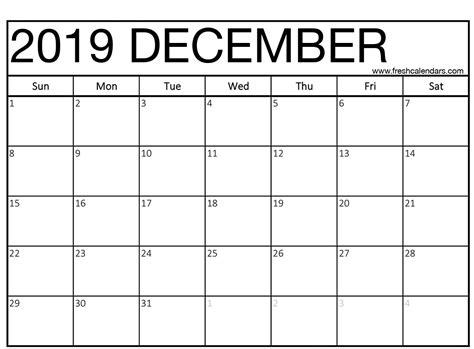 december calendar printable fresh calendars