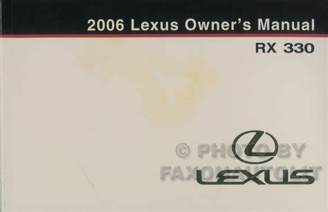 electric and cars manual 2006 lexus es electronic toll collection 2006 lexus rx 330 wiring diagram manual original