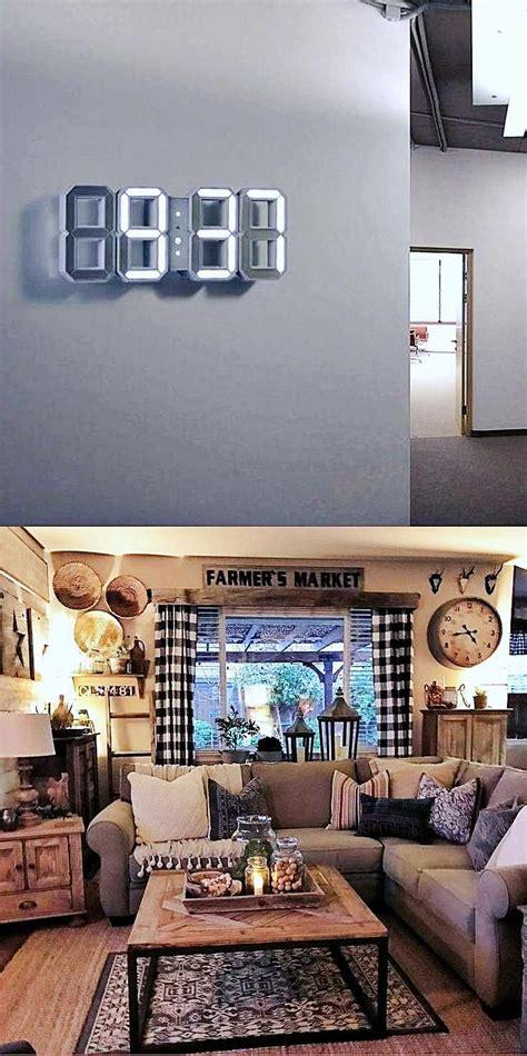 decorative wall clocks  living room electric wall