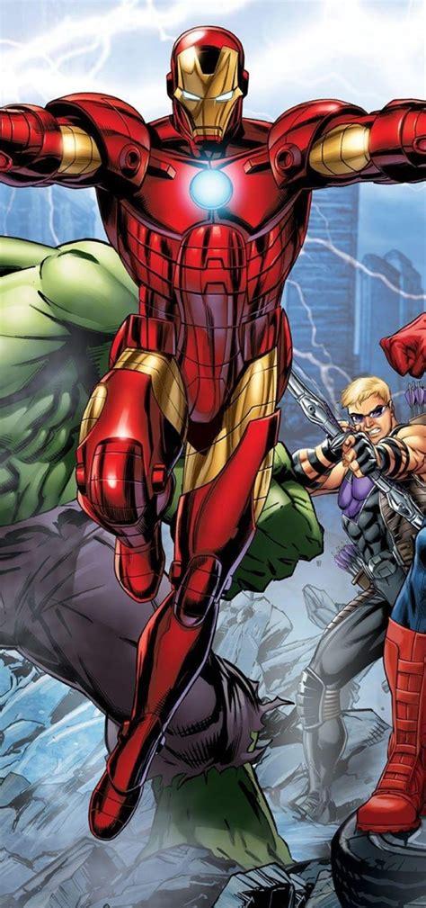 1080x2300 Marvel's Avengers Assemble Comic 1080x2300 ...