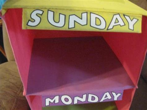 Days Of The Week Closet Organizer For by Back To School Hanging Days Of The Week Closet Organizer