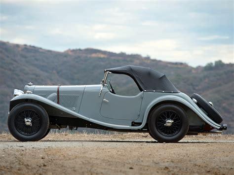 1938 Aston Martin 15-98 Retro Y Wallpaper