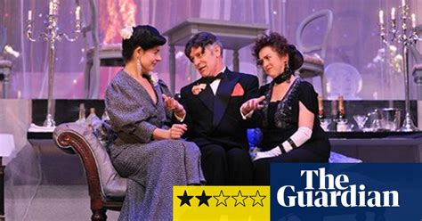 Blithe Spirit Review Stage The Guardian