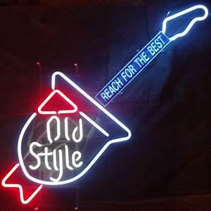 Antique Neon Beer Signs Best 2000 Antique decor ideas