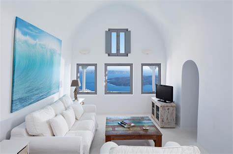 ideal home interiors from bakery to villa gaia discovering santorini s