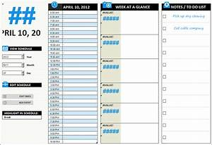 31+ Daily Work Schedule Templates Free PDF, Excel, Word ...