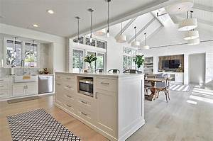 farmhouse style interiors ideas inspirations With kitchen cabinet trends 2018 combined with home sweet home metal wall art