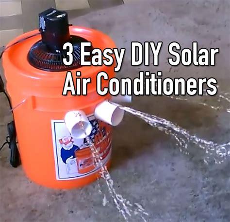 easy diy solar air conditioners  grid world