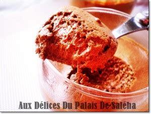 cuisine de choumicha recette de batbout mousse au chocolat noir légère et facile