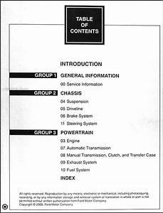 2000 Ford Taurus  U0026 Mercury Sable Repair Shop Manual 2