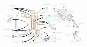 Subaru Forester Cover  Wiring  Main  Harness  Electrical