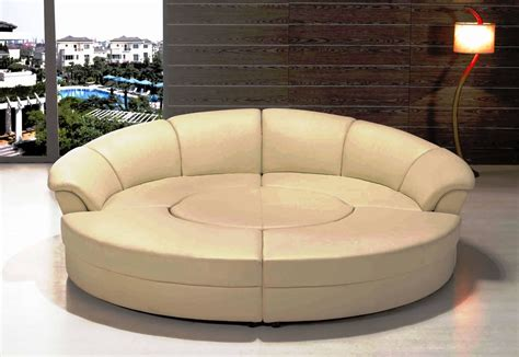 Sofa: Outstanding Round Couches For Charming Home