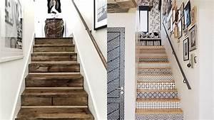 peinture pour monte descalier pour une dco monte With couleur pour une cage d escalier 11 blog papiers peints de marques inspiration decoration
