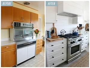 small kitchen remodel reveal before after 1171