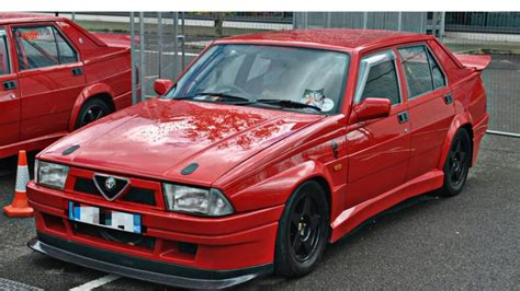 Alfa Romeo 75 Tuning Youtube