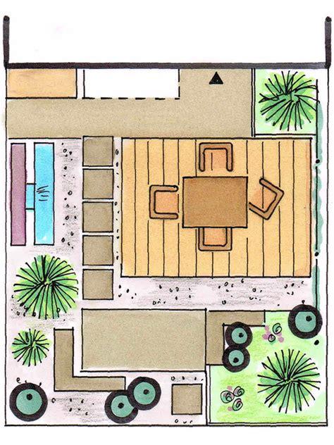 Gartengestaltung Kleine Gärten Modern by Kleiner Garten Gro 223 E Wirkung Bauen De