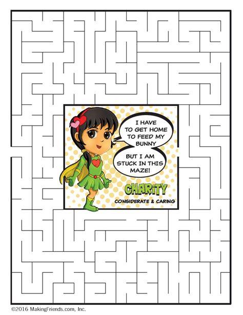 light green petal superhero maze charity makingfriends