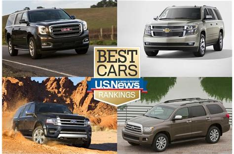 Suburban Toyota by 6 Best Large Suvs Of 2017 Details And Photos U S News