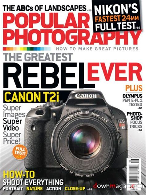 Popular Photography June 2010 » Download Pdf Magazines