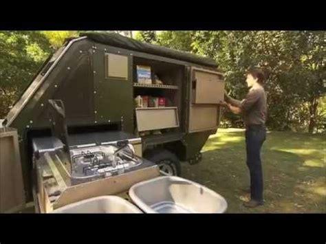 amazing camping trailer youtube