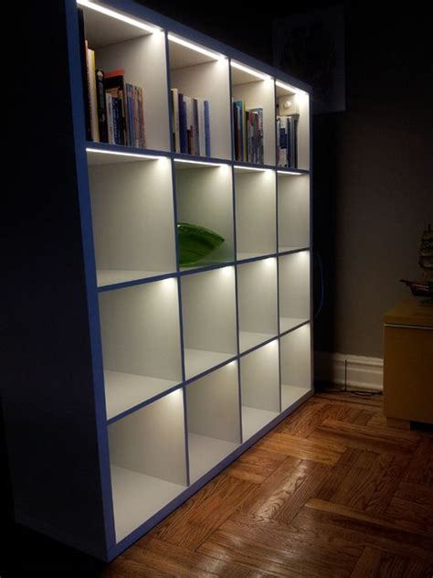 Led Lights For Room Ikea by The Idea Of Lighting A Bookcase I Was Just Planning