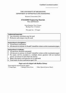 Exam 2011  Questions And Answers - Engr20003 - Unimelb