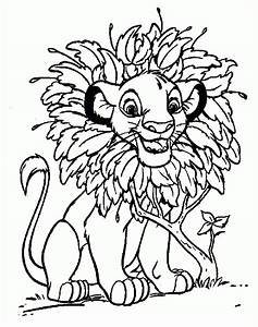 Lion King Coloring Page | Coloring Pages | Pinterest