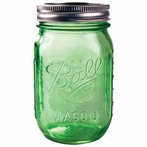 Ball Heritage Green Jar Pint 6 Pack Jo-Ann