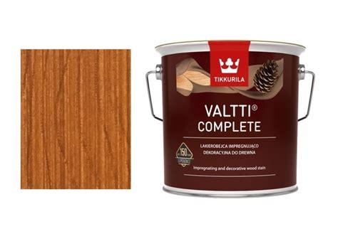 Tikkurila Valtti Complete 5072/Honka-9L - Obchodiště.cz