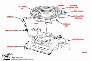 1975 Corvette Air Cleaner Parts