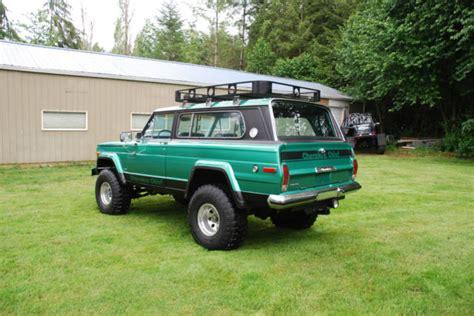 jeep cherokee chief sport wide track  wagoneer