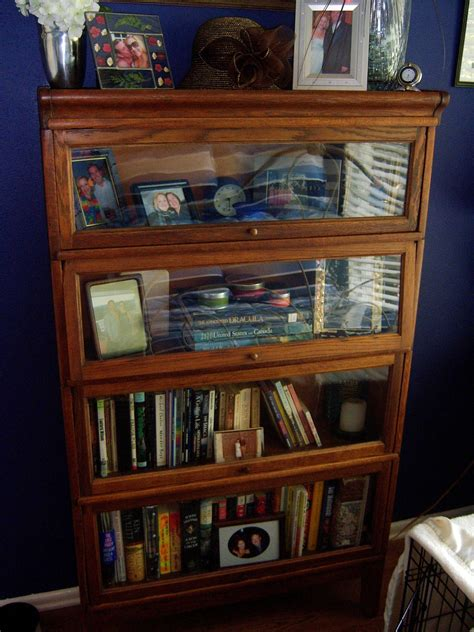 Decor Antique Barrister Bookcase For Sale And Home
