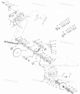 Polaris Atv 1995 Oem Parts Diagram For Gearcase Assembly
