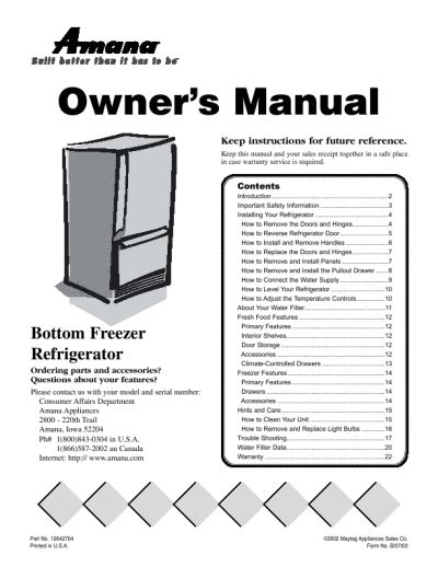 refrigerator troubleshooting amana refrigerator troubleshooting manual