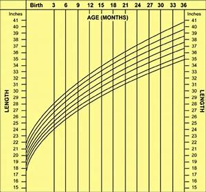 6 Month Old Percentile Chart Child Growth