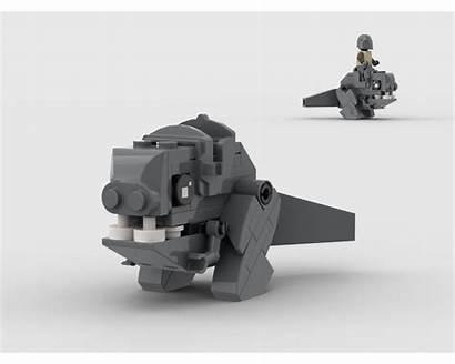 Moc Mandalorian Blurrg Mocs Lego Build Rebrickable