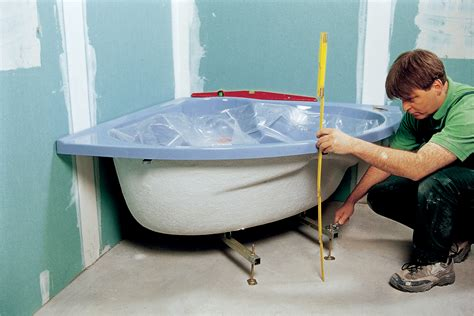 Installer Une Baignoire D'angle Avec Un Tablier Intégré
