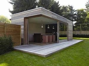 vakantie in eigen tuin leem concepts woonstyling With awesome photo cuisine exterieure jardin 5 abris exterieurs abris de jardin abris bois atelier
