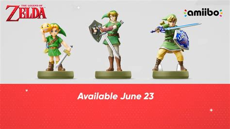Mm Tp And Ss Link Amiibo Go On Sale June 23 The Legend