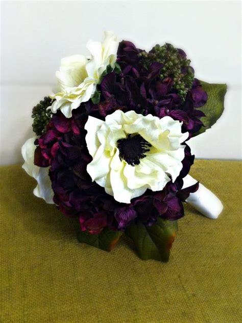 purple fall wedding flowers images  pinterest