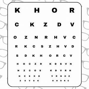 10 Best Free Printable Preschool Eye Charts Printablee Com
