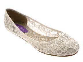 ivory ballet flats wedding womens ivory lace ballet pumps flat bridal bridesmaid shoes size uk 3 8 ebay