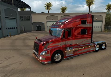 volvo trucks volvo vnl 780 red fantasy 2 0 for volvo vnl truck shop by