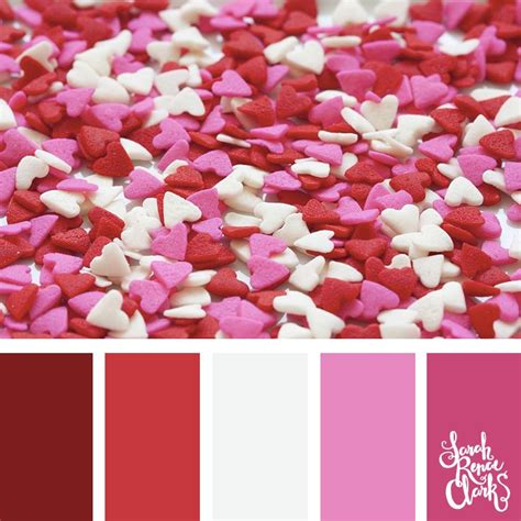 valentines day colors best 25 pink color schemes ideas on