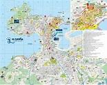 A Coruña actualiza mapas y edita folleto sobre la Ciudad Vieja