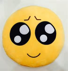 Emoji Plush Emoticon Toy Yellow Pillow