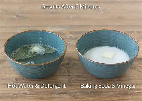 baking soda  vinegar  clean